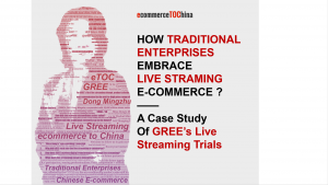 How Can Traditional Enterprises Embrace Live Streaming? — A Case Study of GREE's Live Streaming Trials